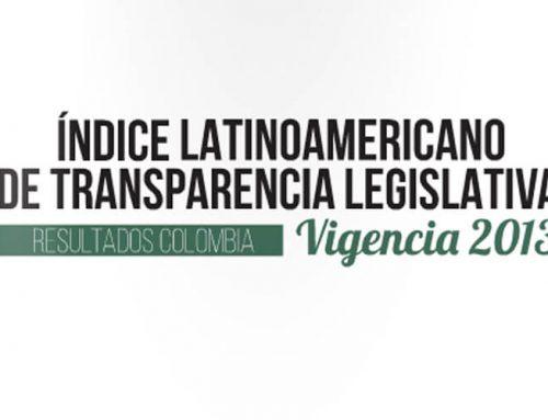 Resultados: índice de transparencia legislativa