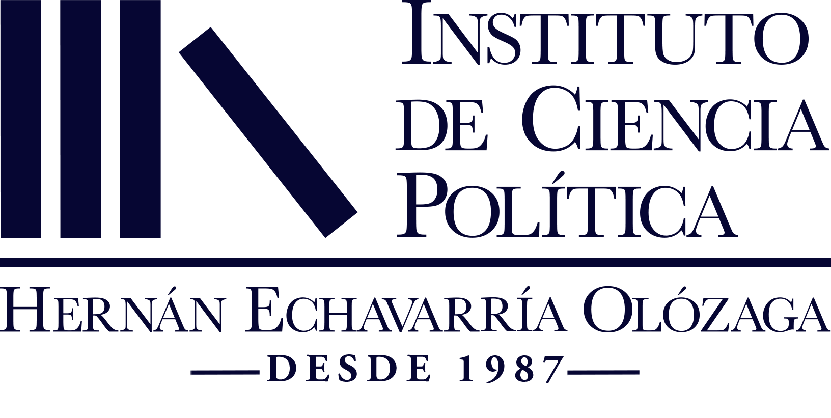 ICP – Instituto de Ciencia Política Hernán Echavarría Olózaga Logo