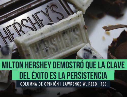 MILTON HERSHEY DEMOSTRÓ QUE LA CLAVE DEL ÉXITO ES LA PERSISTENCIA
