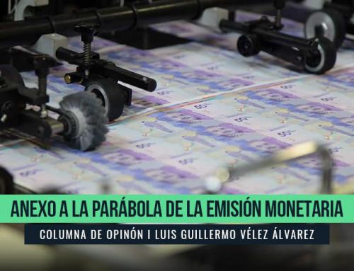 ANEXO A LA PARÁBOLA DE LA EMISIÓN MONETARIA
